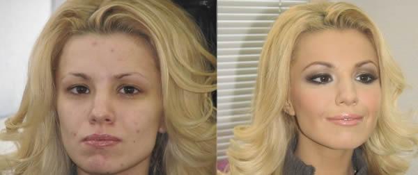 Maquiagem profissional antes e depois (2)