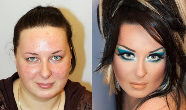 Maquillaje profesional antes y después (6)