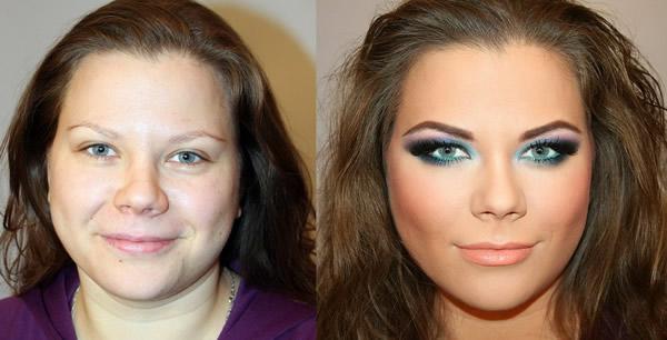 Maquillaje profesional antes y después (4)