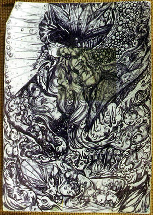 Pinturas de enfermos mentales (6)