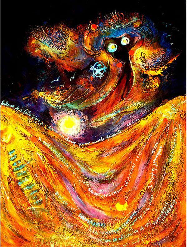 Pinturas de enfermos mentales (2)