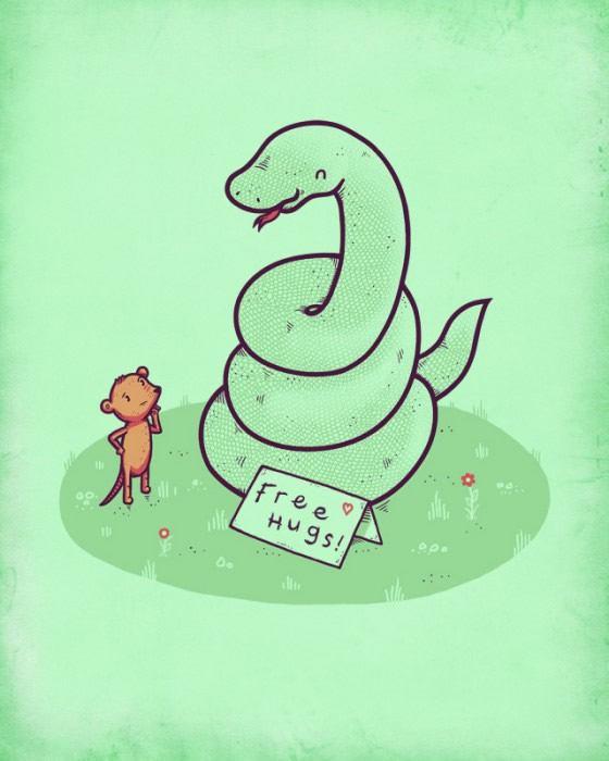 Randy Otter ilustracion (11)