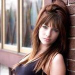 Susan Coffey, hermosa modelo peliroja