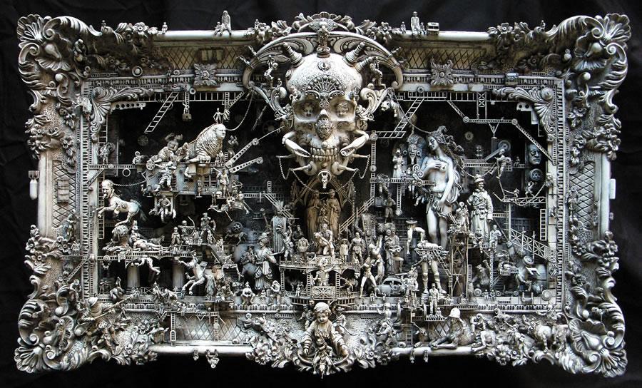 Esculturas Kris Kuksi (5)