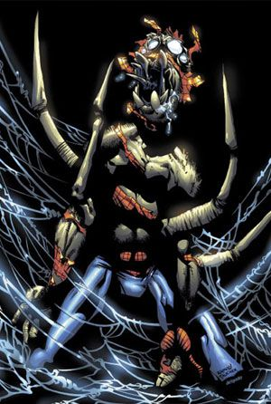 transformacion ohombre araña
