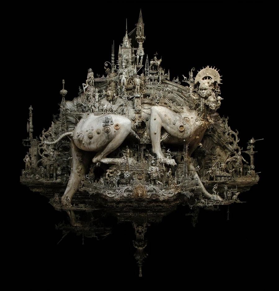 Esculturas Kris Kuksi (4)