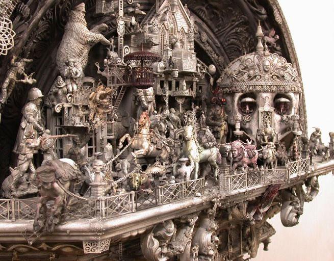 Esculturas Kris Kuksi (1)