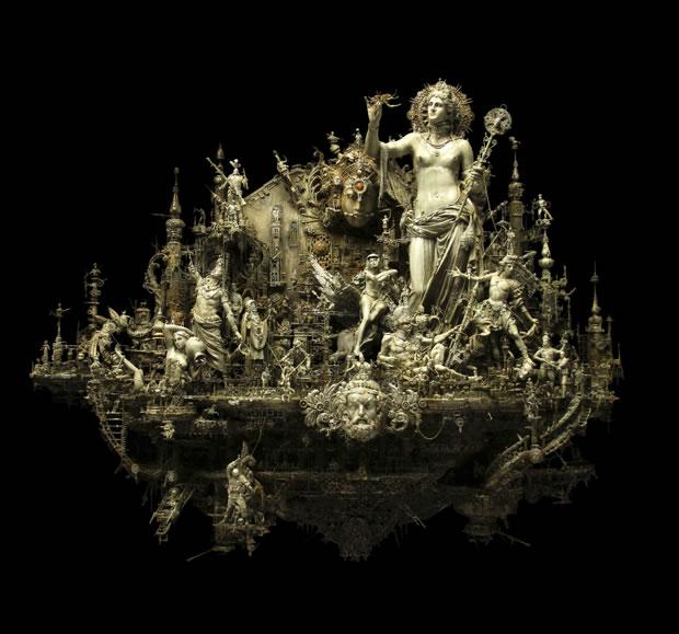 Esculturas Kris Kuksi (3)