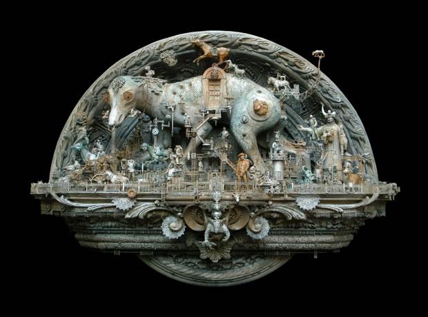 Esculturas Kris Kuksi (2)