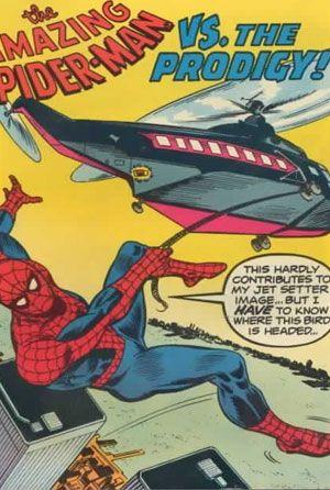 Spider-man vs the prodigy