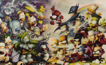 tarjetas coleccionables simpson (49)