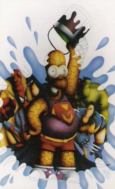 tarjetas coleccionables simpson (40)