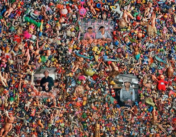 The Real Toy Story por Michael Wolf (4)