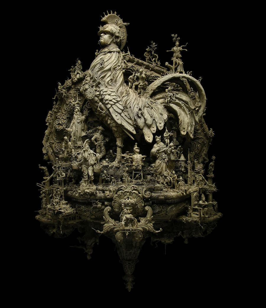 Esculturas Kris Kuksi (8)