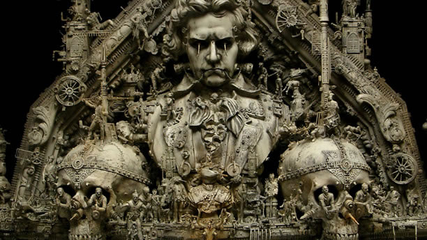 Esculturas Kris Kuksi (6)