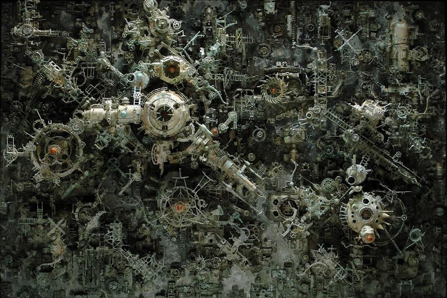 Esculturas Kris Kuksi (15)