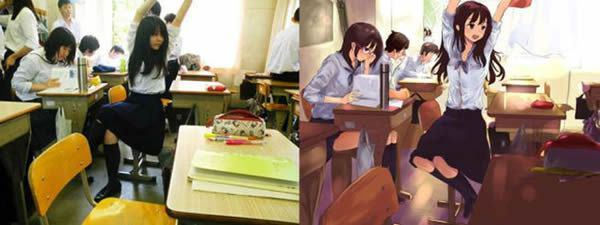 anime vs vida real (21)