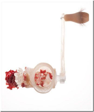 Sentient Kitchen utensilios anatomia humana (8)