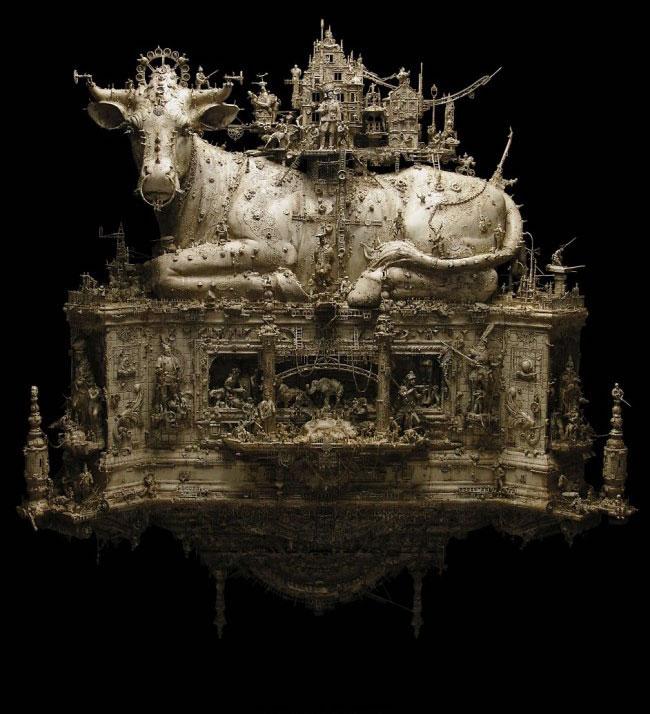 Esculturas Kris Kuksi (13)