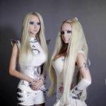 Olga Oleynik, la hermana de la Barbie humana
