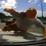 Ataque violento de un conductor en carretera de Australia