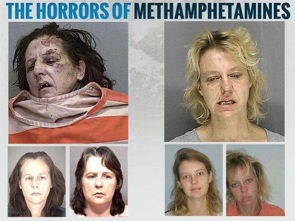 Antes y después de la droga