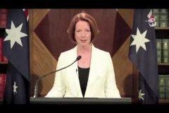 Julia, primer ministra australia