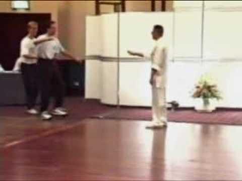 energía invisible de un maestro de Tai-Chi