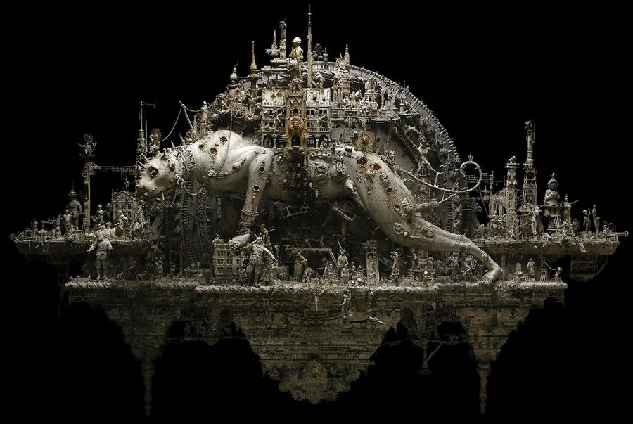 Esculturas Kris Kuksi (23)