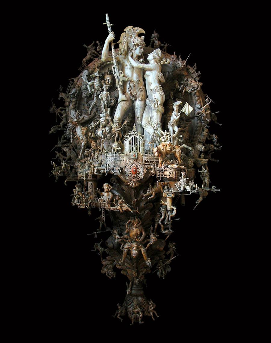Esculturas Kris Kuksi (26)