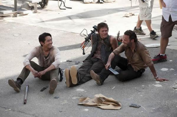 Walking Dead detras camaras (50)
