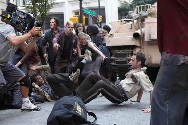 Walking Dead detras camaras (29)