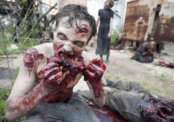 Walking Dead detras camaras (23)