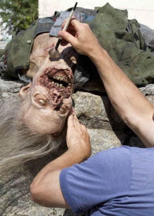 Walking Dead detras camaras (21)