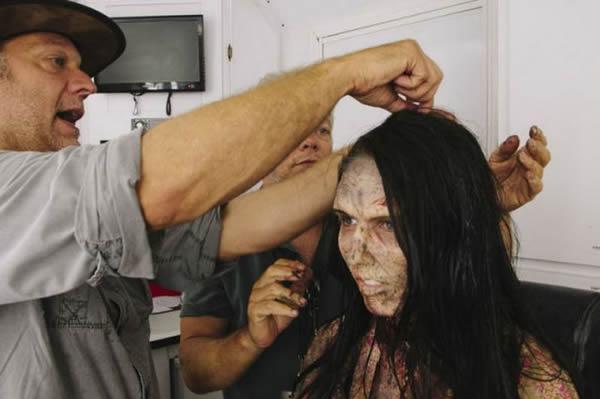 Walking Dead detras camaras (10)