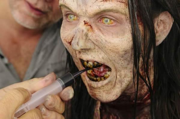 Walking Dead detras camaras (9)