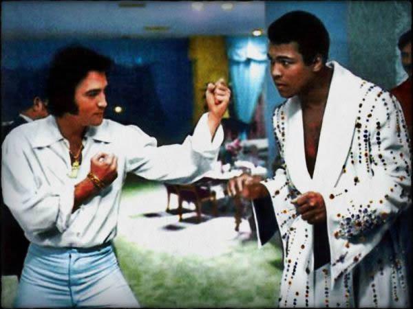 Muhammad Ali y Elvis