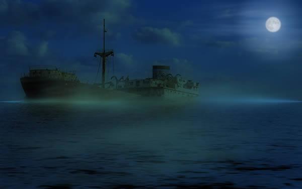 Niebla Ghost-Ship-Fog-Fresh-New-Hd-Wallpaper-