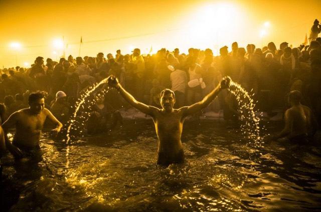 Maha Kumbh Mela peregrinacion 2013 (12)