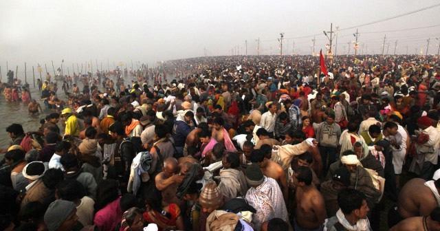 Maha Kumbh Mela peregrinacion 2013 (10)