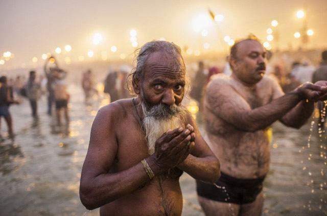 Maha Kumbh Mela peregrinacion 2013 (4)