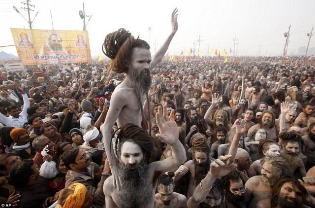 Maha Kumbh Mela peregrinacion 2013 (19)