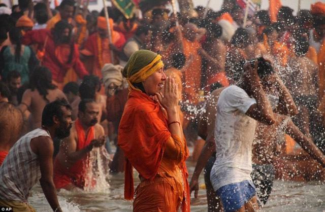 Maha Kumbh Mela peregrinacion 2013 (14)