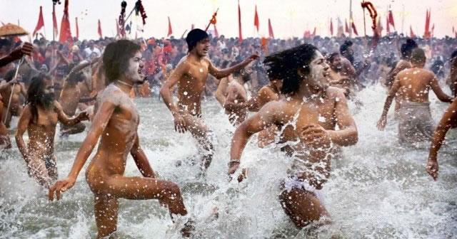 Maha Kumbh Mela peregrinacion 2013 (1)