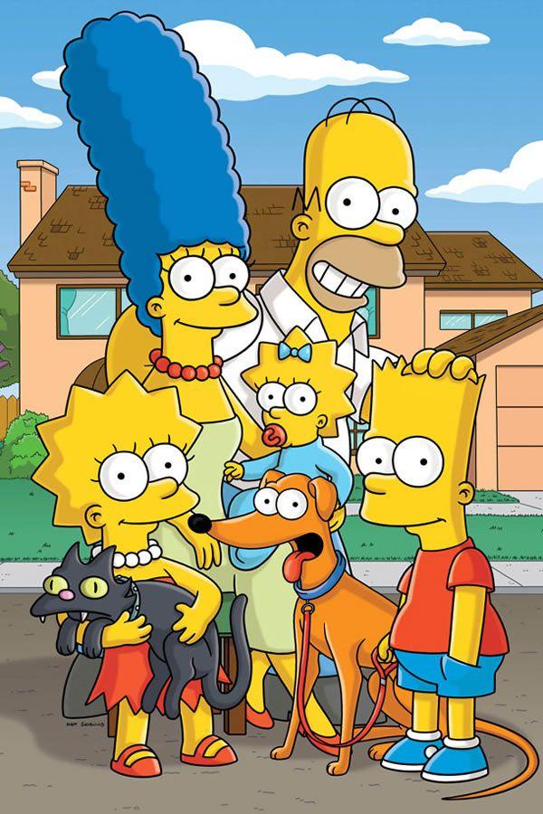 Los Simpson calle