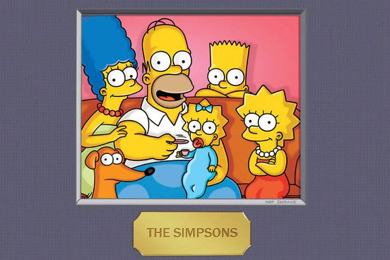Los Simpson retrato