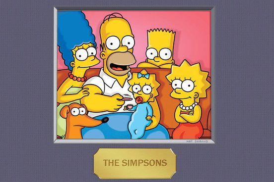 Los Simpson retrato