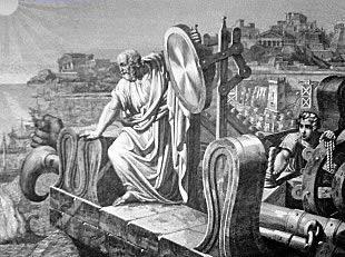Arquímedes rayo muerte