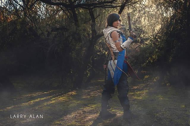 Jessica Nigri Assassin's Creed cosplay (7)