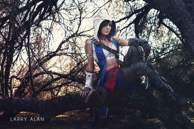 Jessica Nigri Assassin's Creed cosplay (4)